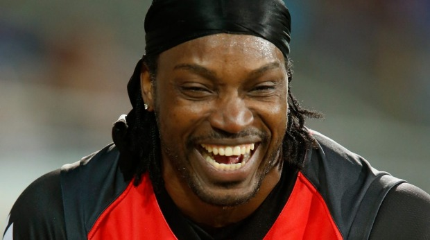 Chris Gayle At Dhaka