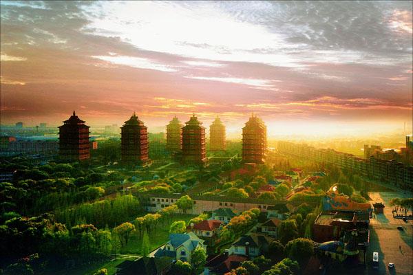 বিশ্বের ধনী গ্রাম চীনের হুয়াক্সি