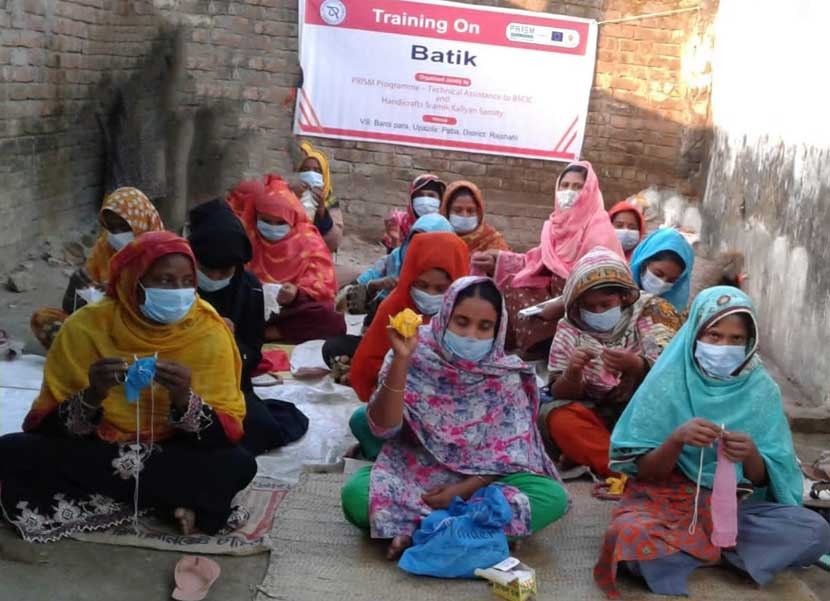 ঢাকা ও রাজশাহীতে বিসিক ও প্রিজম প্রকল্পের ৩ প্রশিক্ষণ